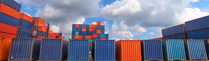 Billede af containere