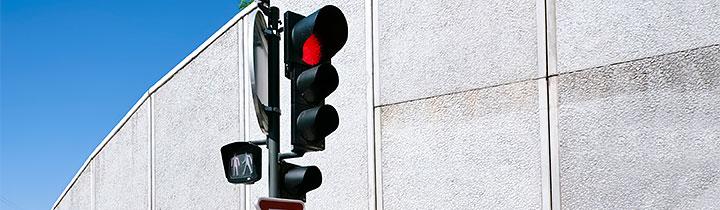 Billede af trafiklys